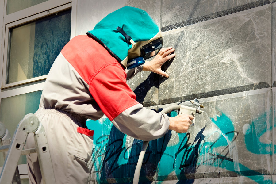 graffiti removal Devon Cornwall